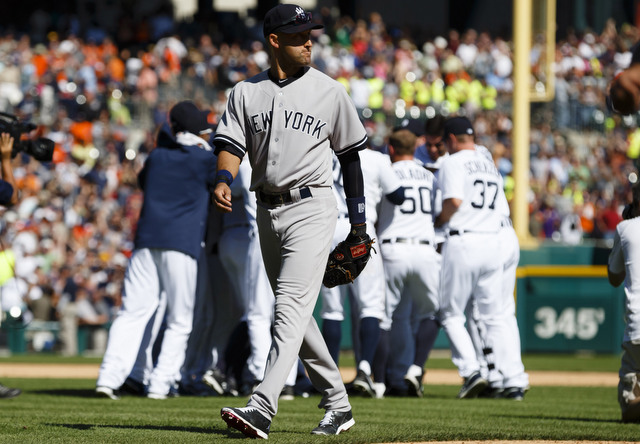 Derek Jeter went hitless in Thursday afternoon's walk-off loss.