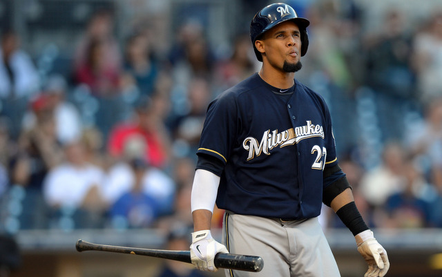 The Brewers will be without Carlos Gomez for at least another week.