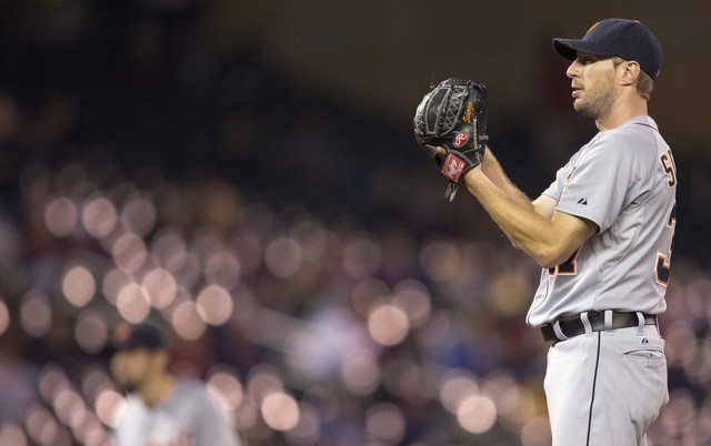 Max Scherzer and 120 other players became free agents on Thursday.