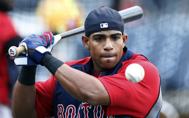 Yoenis Cespdes is not sure if he wants to stay in Boston long-term.