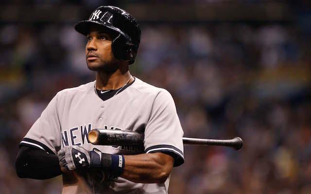 Chris Young jugó con Yankees entre 2014 y 2015, y luego pasó a Boston.