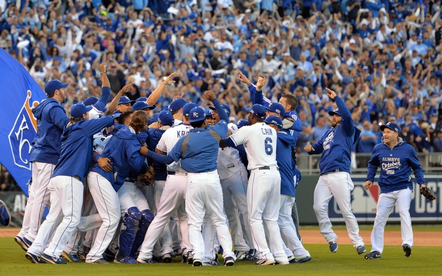 The 2014 Royals were put together through the draft and trades.