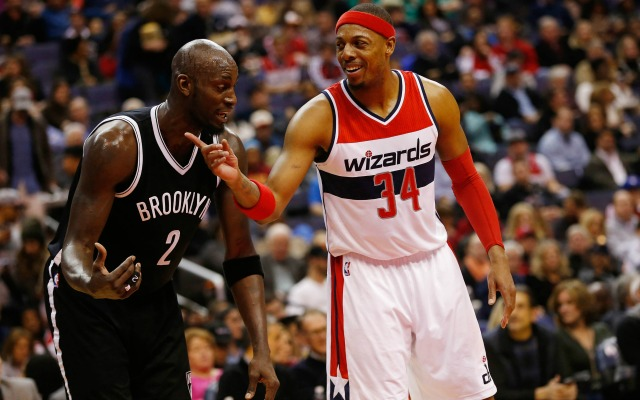 best service fc0b8 ce9ae Paul Pierce calls his one year with the Nets a 'horrible ...