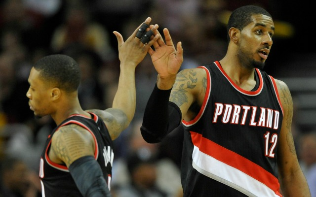 Damian Lillard wants to beat LaMarcus Aldridge and the Spurs on Wednesday.