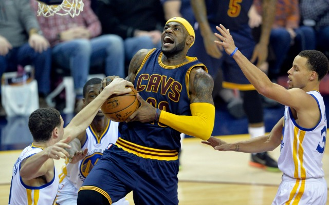 The Warriors have the best odds of beating the Cavs in the Finals.