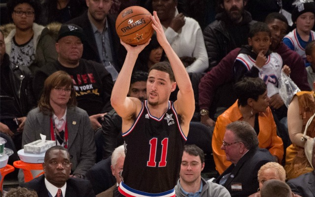 Klay Thompson will be suiting up for the West All-Stars.