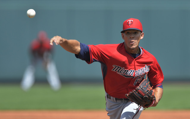 The Twins are calling up top pitching prospect Jose Berrios.