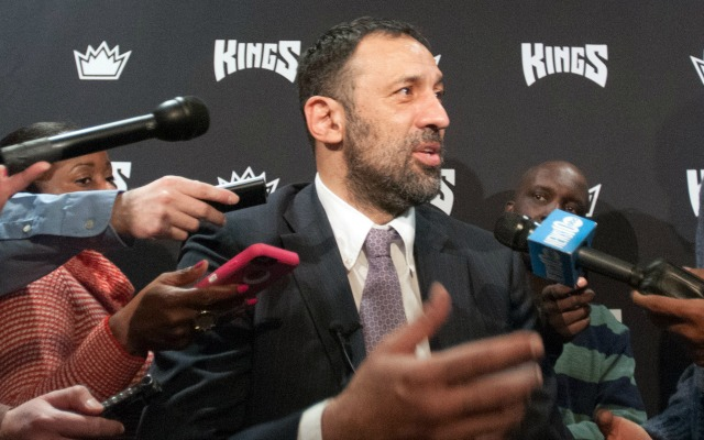 Vlade Divac is in Sacramento for the long haul.