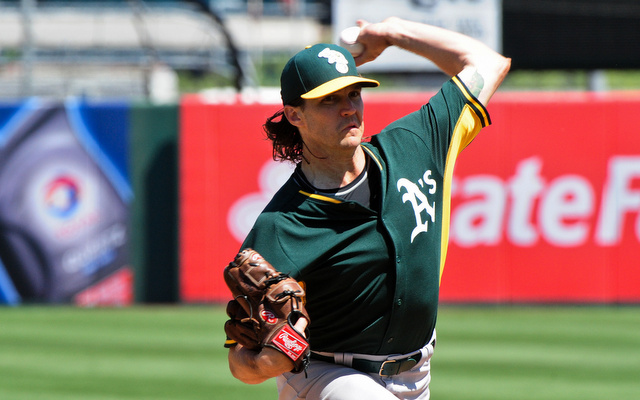 Barry Zito is back in the big leagues with the A's.