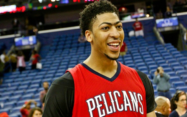 Anthony Davis keeps his power in his unibrow.
