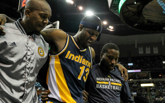 Paul George left Pacers' finale because he felt a 'pop' in leg