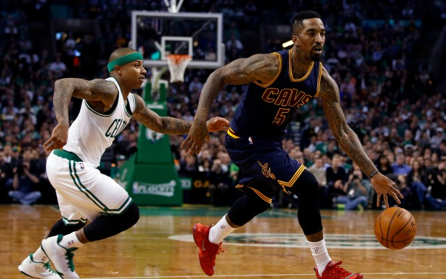 LOOK: J.R. Smith apologizes to Cavs fans for his suspension