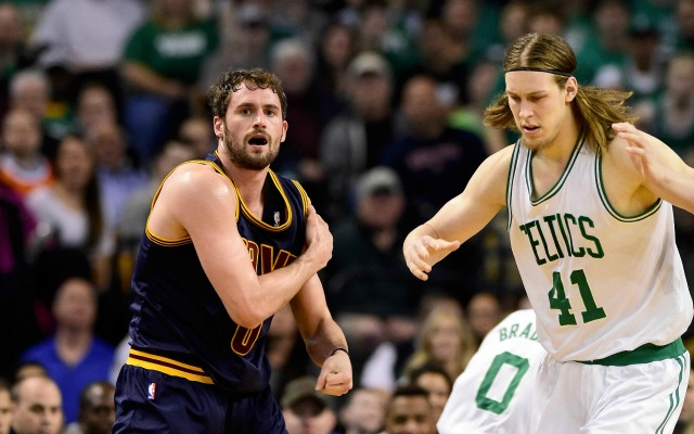 Kevin Love has no beef with Kelly Olynyk