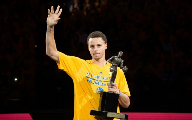 The MVP USATSI On Monday Stephen Curry
