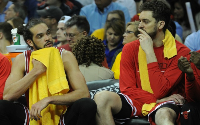 Joakim Noah and Pau Gasol are reportedly on the trade block.