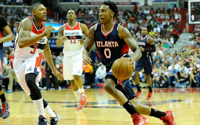 Jeff Teague was just joking about having a heart attack.