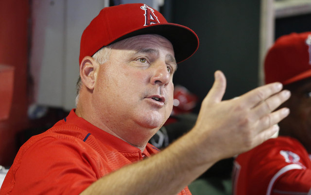 Mike Scioscia believes gambling is worse than PEDs.