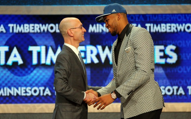 LOOK: Top 5 moments of the 2015 NBA Draft
