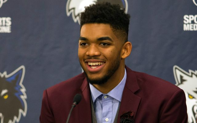 Karl-Anthony Towns wants to learn how to be a champ from Kevin Garnett