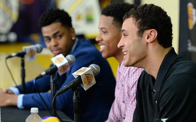 Lakers' Larry Nance Jr. apologized to Kobe Bryant about his infamous tweet