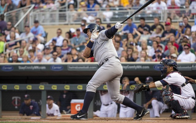LOOK: A-Rod clobbers home run into third deck at Target Field