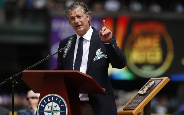 Jamie Moyer was inducted in the Hall of Fame on Saturday. The Mariners Hall of Fame.
