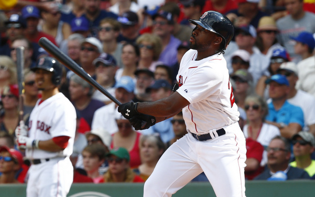 Jackie Bradley Jr. had five extra-base hits on Saturday.