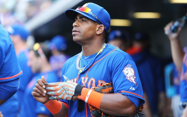 Yoenis Cespedes has had a huge impact with the Mets.