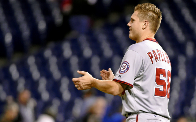 Jonathan Papelbon admitted he was in the wrong when he choked Bryce Harper last year.