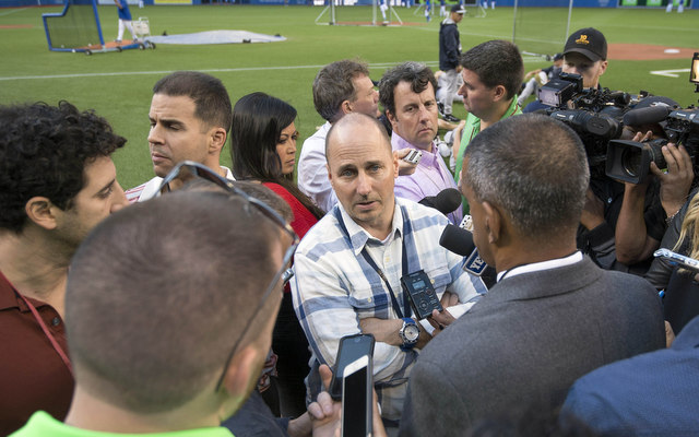Yankees GM Brian Cashman has not signed an MLB free agent this offseason.