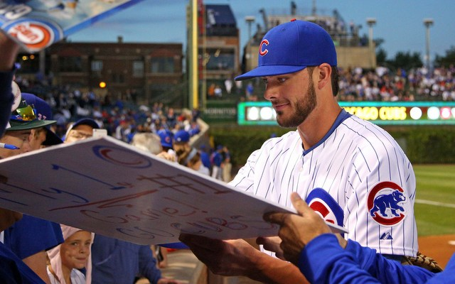 cheaper 4a2aa 217d5 Cubs' Kris Bryant has top-selling MLB jersey of 2015 ...