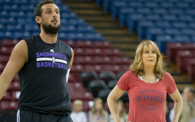With the Kings, Nancy Lieberman is on the outside looking in.