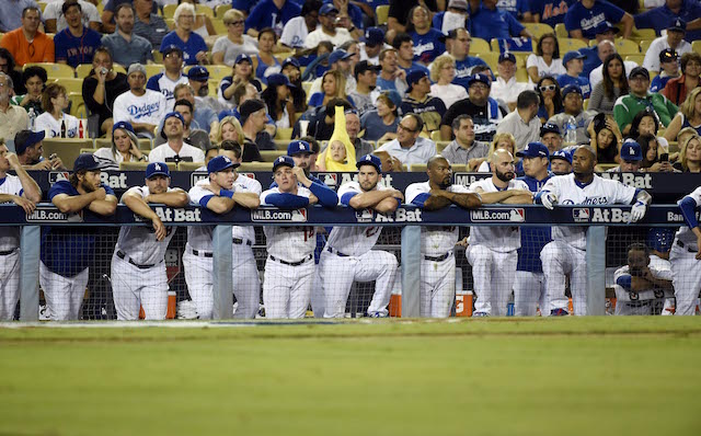Dodgers Bench The Dodgers Bench Just Got Even Stronger