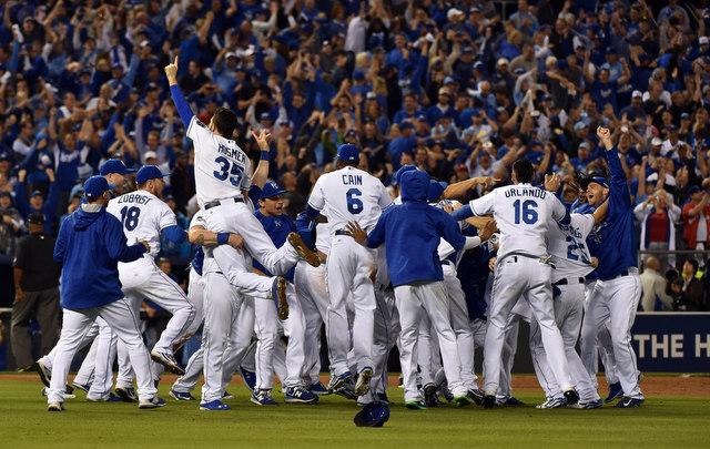The Royals are going back to the World Series.