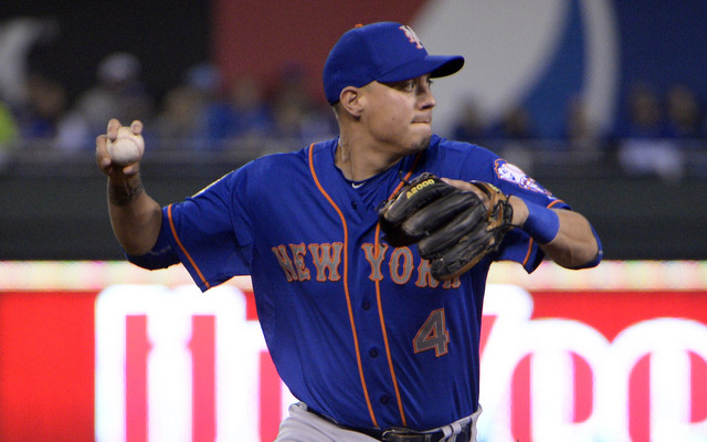 Wilmer Flores broke his ankle in winter ball.