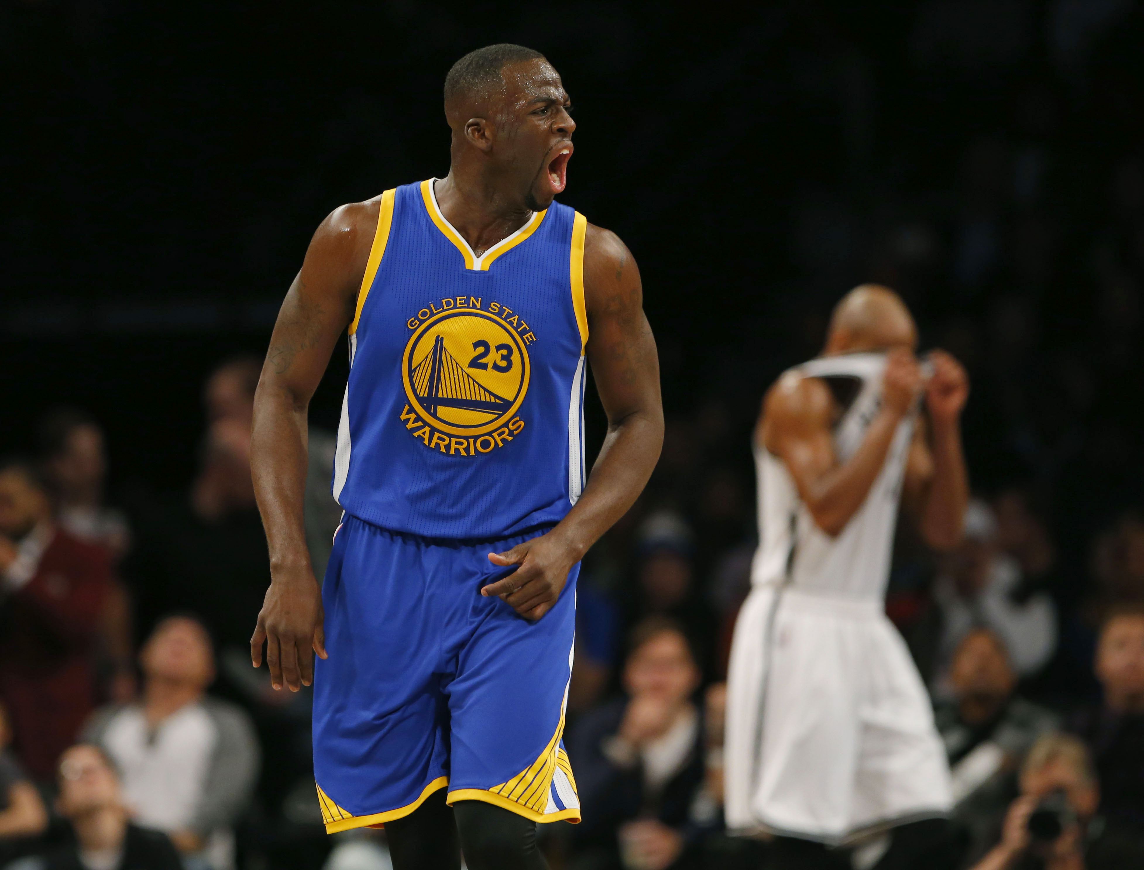 Draymond Green talks trash just like his mother taught him to.