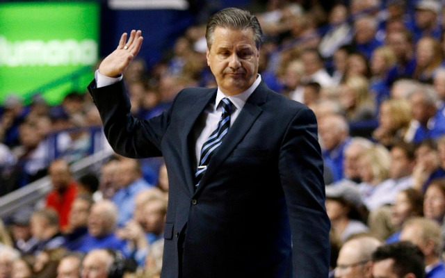 Coach Cal says he wants to stay at Kentucky.