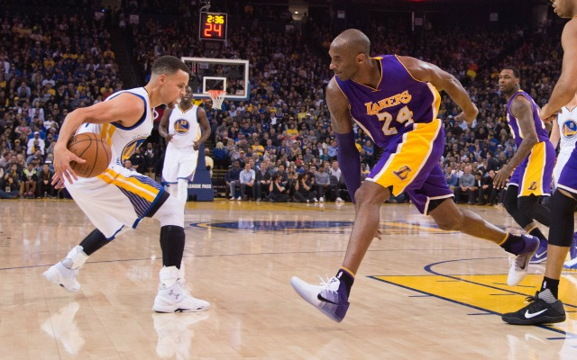 Kobe wants Steph to shoot not pass in the All-Star game.