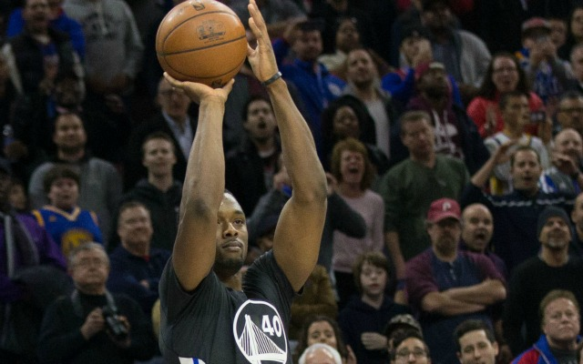 Harrison Barnes knows he's about to make the game-winning shot.