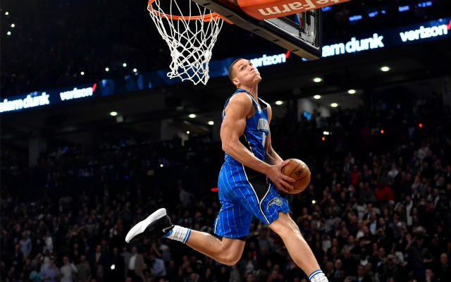 WATCH: All of Aaron Gordon's dunks from the 2016 Dunk Contest - CBSSports.com