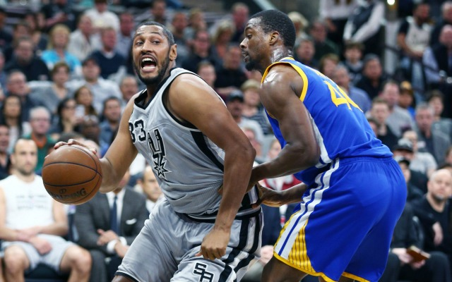 Boris Diaw and the Spurs were too much for the Warriors to handle on Saturday.