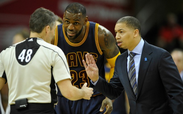 Cavs GM, Lue talked to LeBron James about his curious behavior