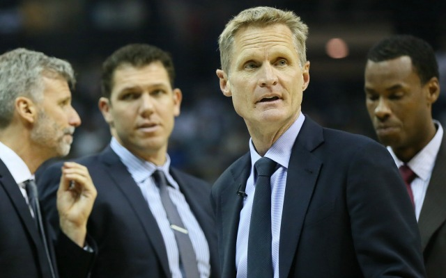 Steve Kerr is the 2016 Coach of the Year.