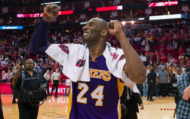 Kobe Bryant loves his fans.