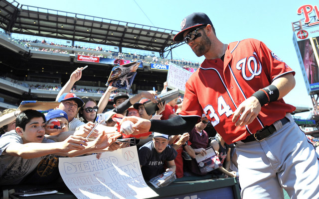 Reigning NL MVP Bryce Harper is getting even better.