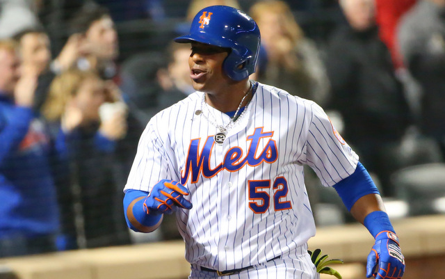 Yoenis Cespedes hit a grand slam and the Mets scored 12 runs in one inning Friday.