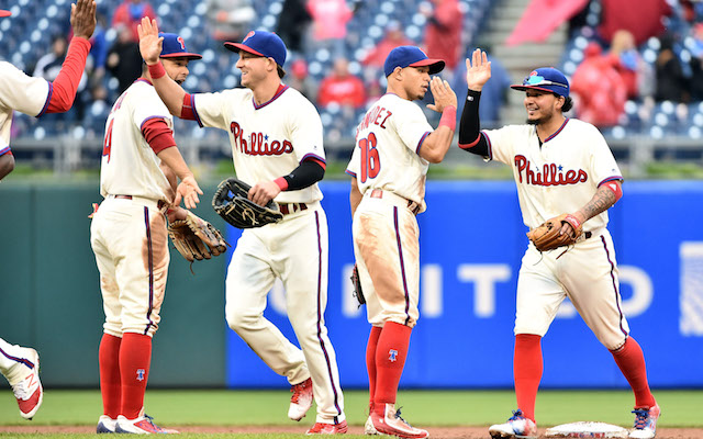 Thus far, the 2016 Phillies have a lot to be happy about.