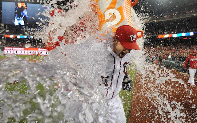 Yes, Max Scherzer, you're entitled to a celebration.