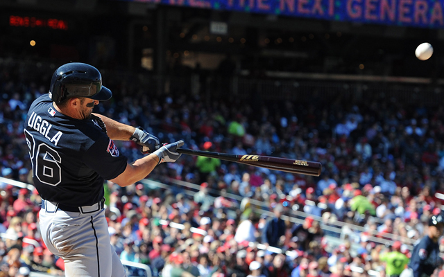 Dan Uggla's days with the Braves are at an end. (USATSI)