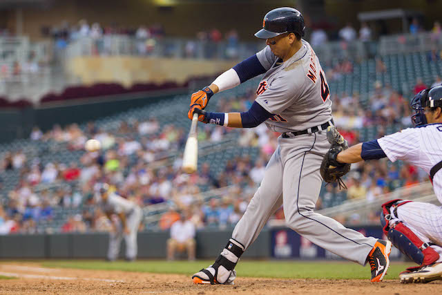 Will the ChiSox make a play for the steady bat of Victor Martinez? (USATSI)